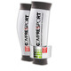 Compressport Ultrasilicon Calf Sleeves White